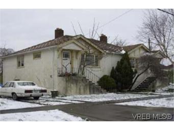 Main Photo: 1007 Empress Ave in VICTORIA: Vi Central Park Multi Family for sale (Victoria)  : MLS®# 281139