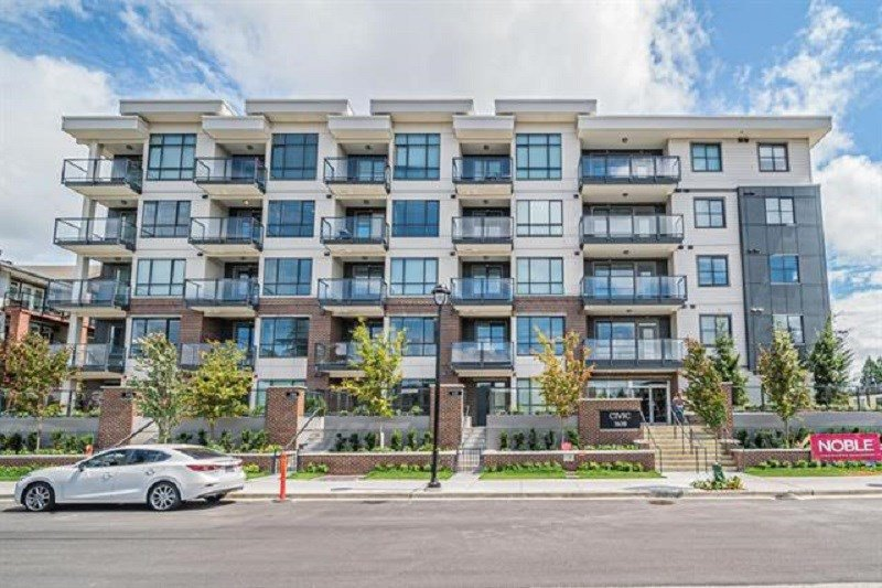 """Main Photo: 211 5638 201A Street in Langley: Langley City Condo for sale in """"The Civic"""" : MLS®# R2392806"""