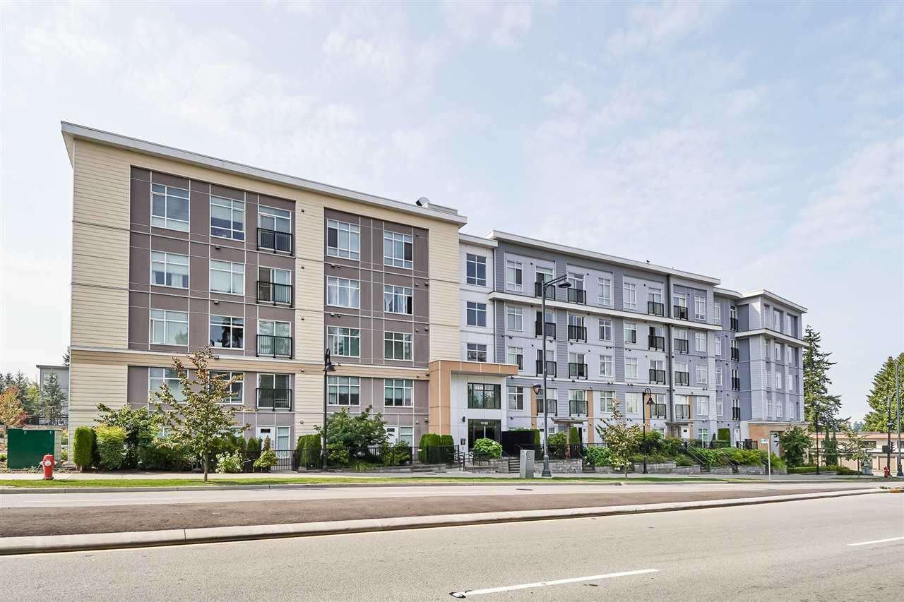 "Main Photo: 322 13728 108 Avenue in Surrey: Whalley Condo for sale in ""QUATTRO 3"" (North Surrey)  : MLS®# R2396244"