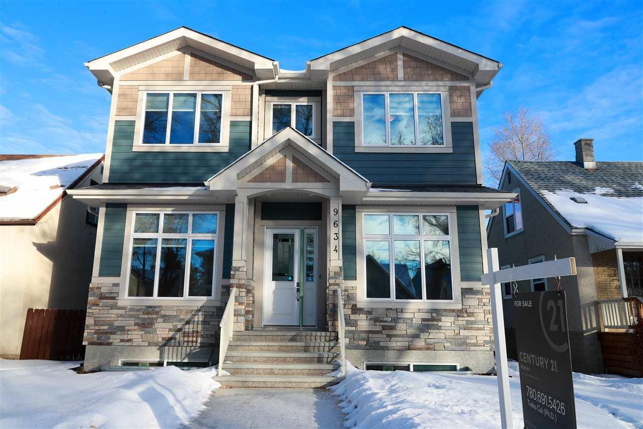 Main Photo: 9634 75 Avenue in Edmonton: Zone 17 House for sale : MLS®# E4185219