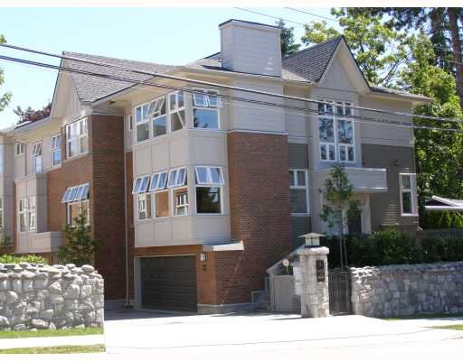 """Main Photo: 6638 ARBUTUS Street in Vancouver: S.W. Marine Townhouse for sale in """"BANNISTER MEWS"""" (Vancouver West)  : MLS®# V787100"""