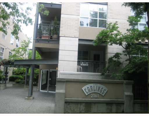 "Main Photo: 312 2161 W 12TH Avenue in Vancouver: Kitsilano Condo for sale in ""THE CARLINGS"" (Vancouver West)  : MLS®# V774123"