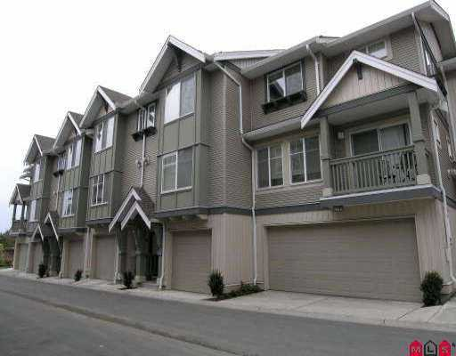 "Main Photo: 38 6651 203RD ST in Langley: Willoughby Heights Townhouse for sale in ""Sunscape"" : MLS®# F2608056"
