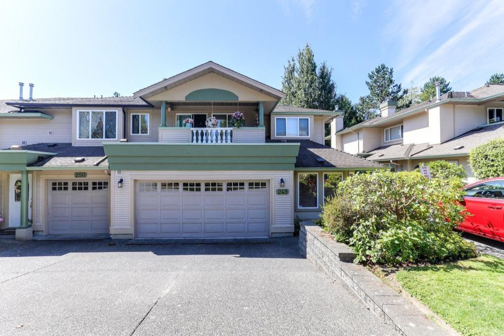 "Main Photo: 249 13888 70 Avenue in Surrey: East Newton Townhouse for sale in ""Chelsea Gardens"" : MLS®# R2392420"