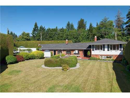 Main Photo: 695 BURLEY Drive in West Vancouver: Home for sale : MLS®# V973541