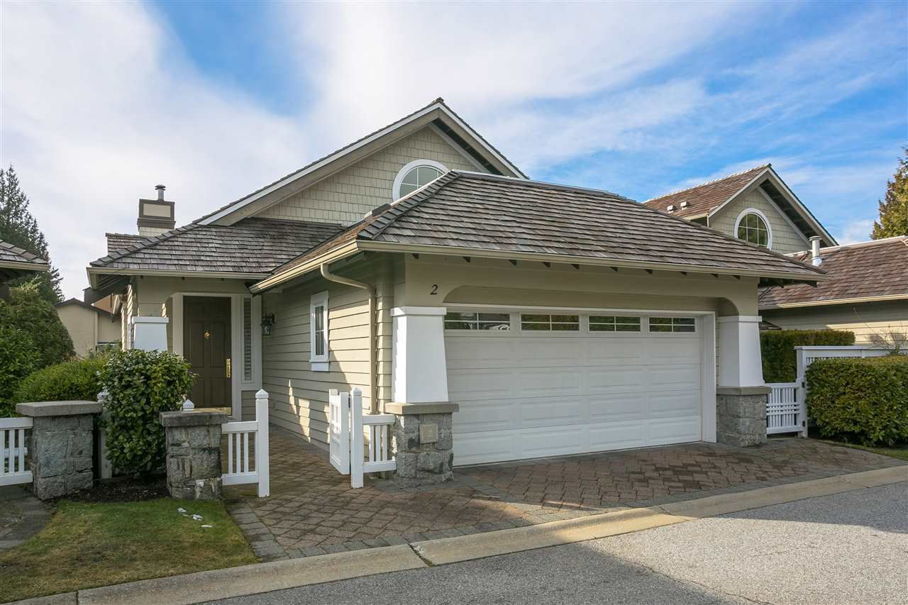 "Main Photo: 2 5130 ASHFEILD Road in West Vancouver: Upper Caulfeild Townhouse for sale in ""Edenshaw"" : MLS®# R2428979"