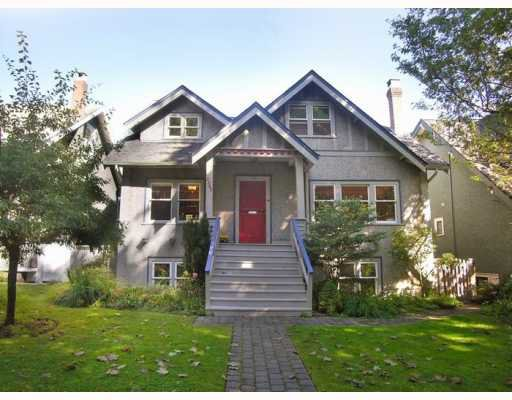 Main Photo: 3507 W 20TH Avenue in Vancouver: Dunbar House for sale (Vancouver West)  : MLS®# V786595