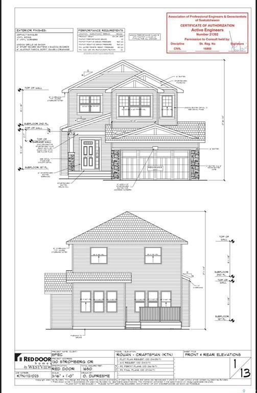 Main Photo: 130 Stromberg Crescent in Saskatoon: Kensington Residential for sale : MLS®# SK813432