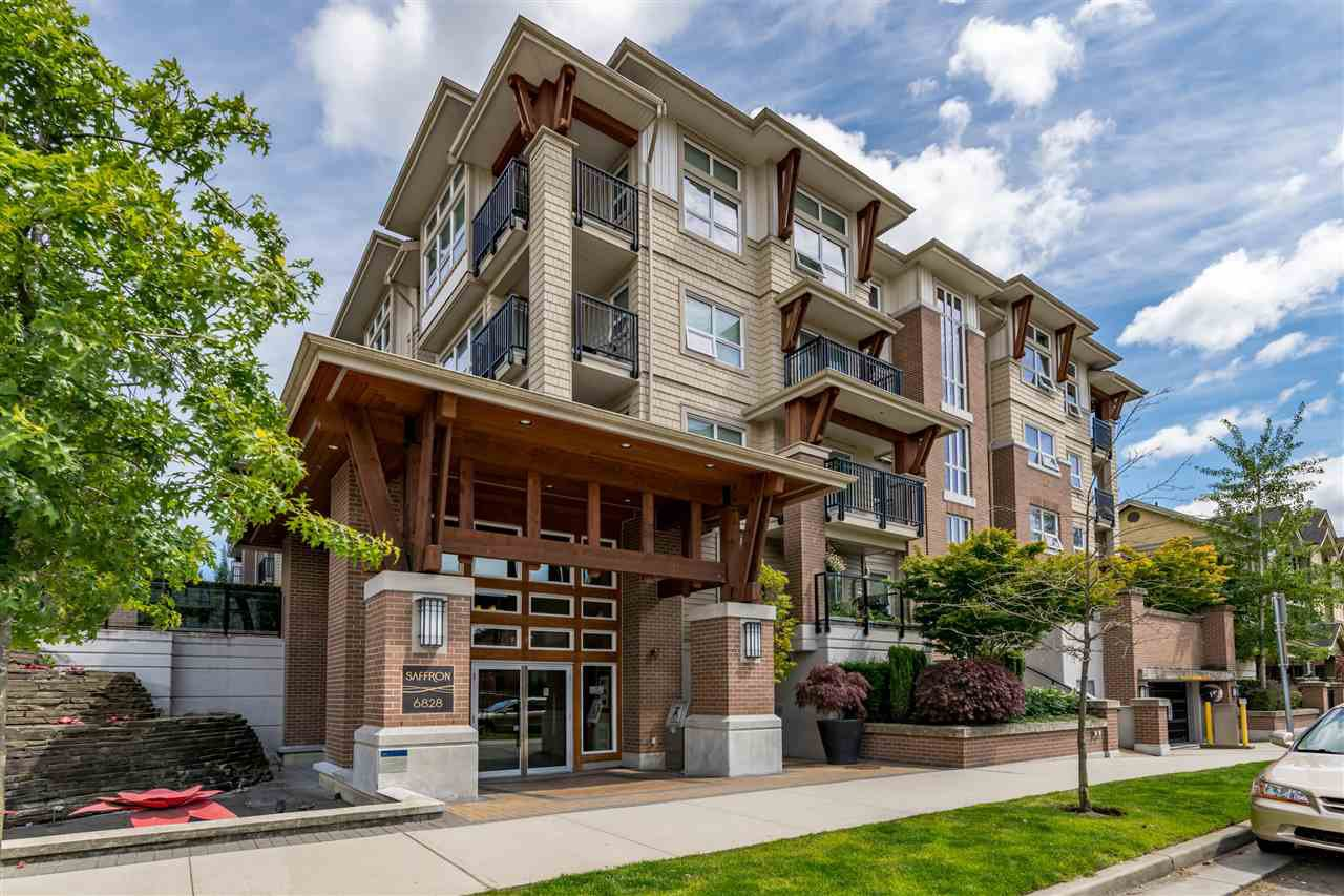 "Main Photo: 420 6828 ECKERSLEY Road in Richmond: Brighouse Condo for sale in ""SAFRON"" : MLS®# R2483230"