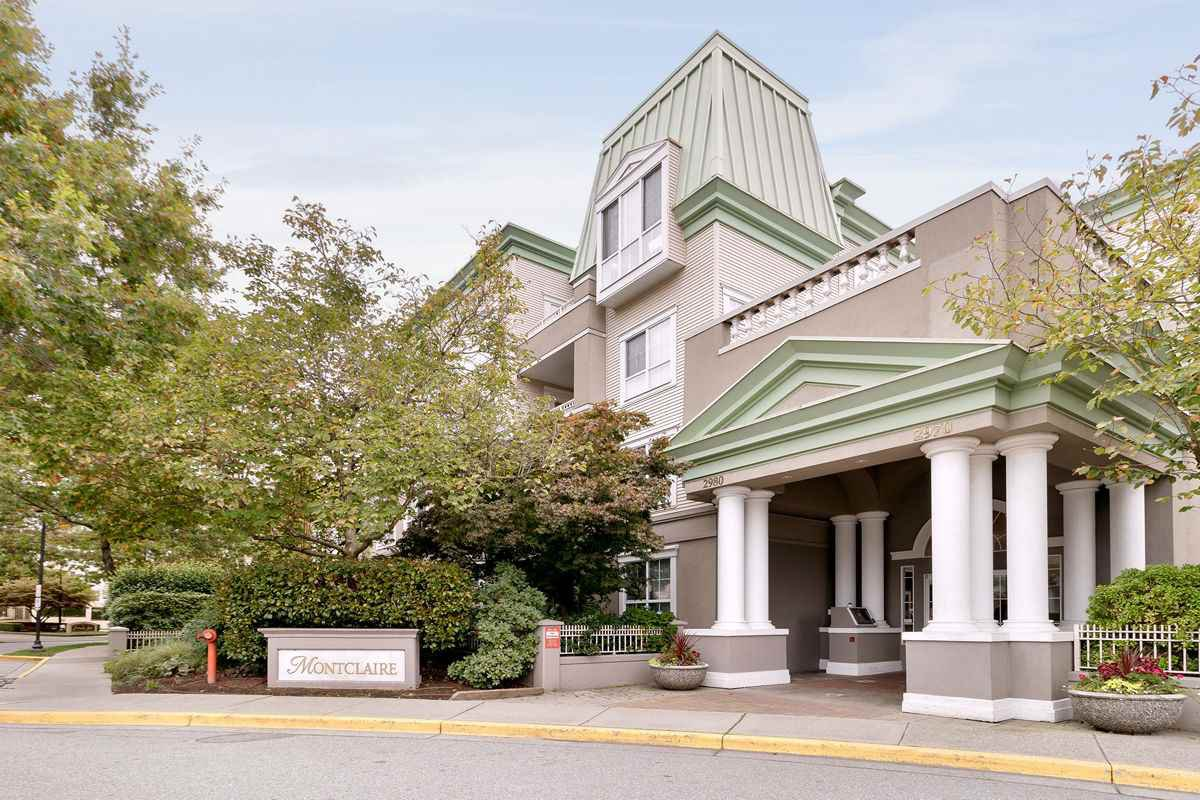 """Main Photo: 109 2970 PRINCESS Crescent in Coquitlam: Canyon Springs Condo for sale in """"MONTCLAIRE"""" : MLS®# R2510423"""