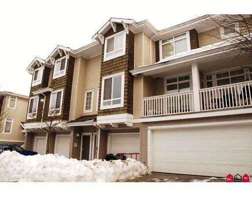 """Main Photo: 19 15030 58TH Avenue in Surrey: Sullivan Station Townhouse for sale in """"SUMMERLEAF"""" : MLS®# F2833515"""
