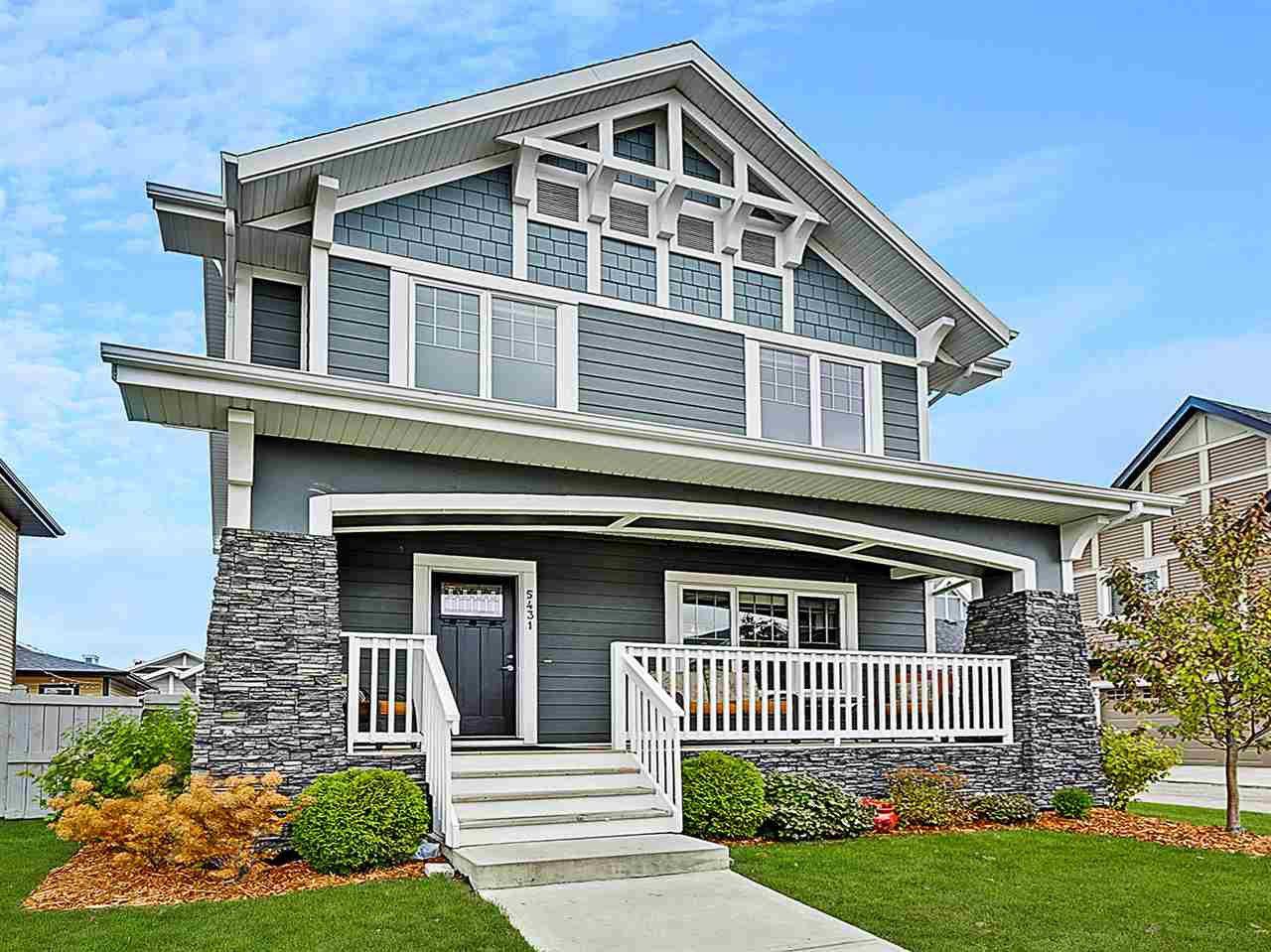 Main Photo: 5431 BONAVENTURE Avenue in Edmonton: Zone 27 House for sale : MLS®# E4177221