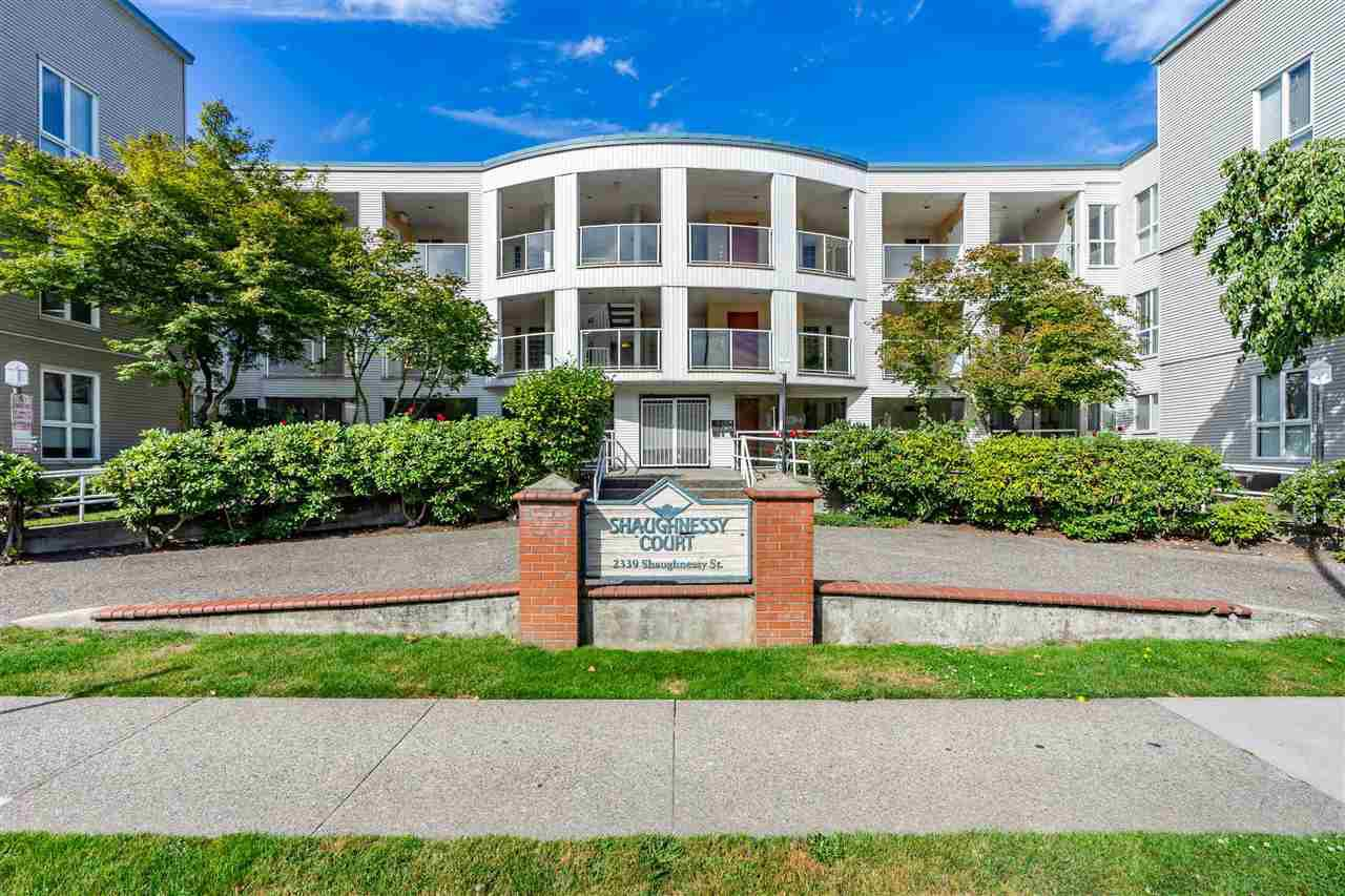 "Main Photo: 206 2339 SHAUGHNESSY Street in Port Coquitlam: Central Pt Coquitlam Condo for sale in ""SHAUGHNESSY COURT"" : MLS®# R2430185"