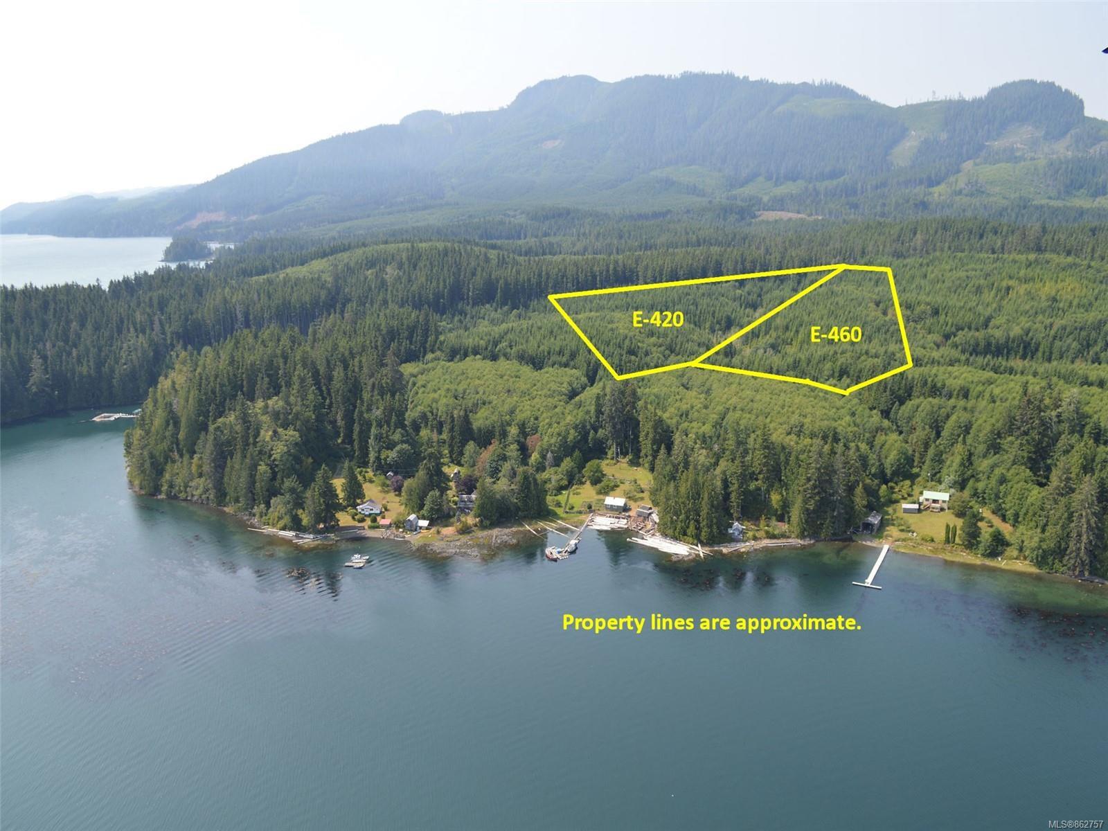 Main Photo: E-460 Quatsino Rd in : NI Port Hardy Land for sale (North Island)  : MLS®# 862757