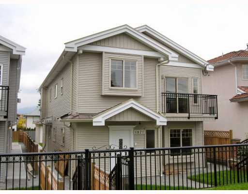 Main Photo: 5825 WOODSWORTH Street in Burnaby: Central BN House 1/2 Duplex for sale (Burnaby North)  : MLS®# V748580