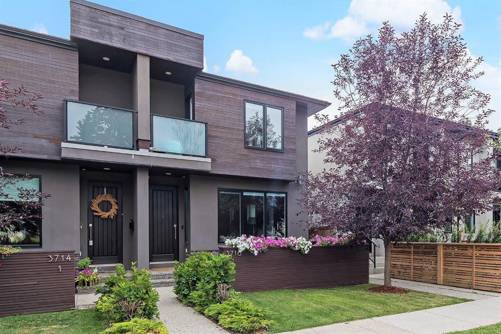 Main Photo: 2 3716 16 Street SW in Calgary: Altadore Row/Townhouse for sale : MLS®# A1026191