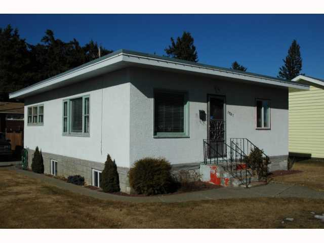 "Main Photo: 1737 HEMLOCK Street in Prince George: Millar Addition House for sale in ""MILLAR ADDITION"" (PG City Central (Zone 72))  : MLS®# N199041"