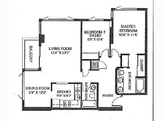 Main Photo: UNIVERSITY CITY Condo for sale : 2 bedrooms : 3890 Nobel #606 in San Diego
