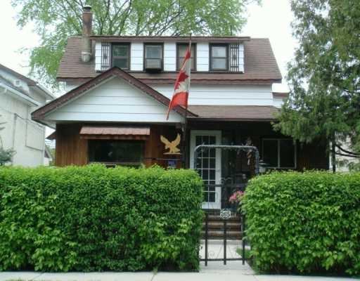 Main Photo: 265 BERTRAND Street in WINNIPEG: St Boniface Single Family Detached for sale (South East Winnipeg)  : MLS®# 2708057