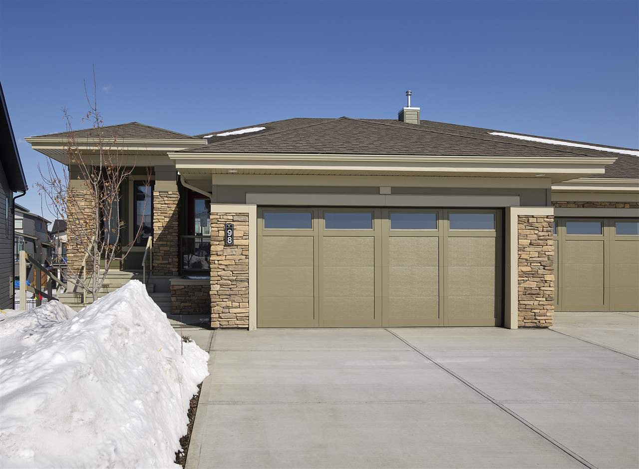 Main Photo: 98 Rybury Court: Sherwood Park House Half Duplex for sale : MLS®# E4175215