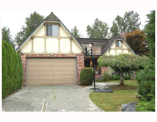 Main Photo: 4870 BAYTREE Court in Burnaby: Deer Lake Place House for sale (Burnaby South)  : MLS®# V781774