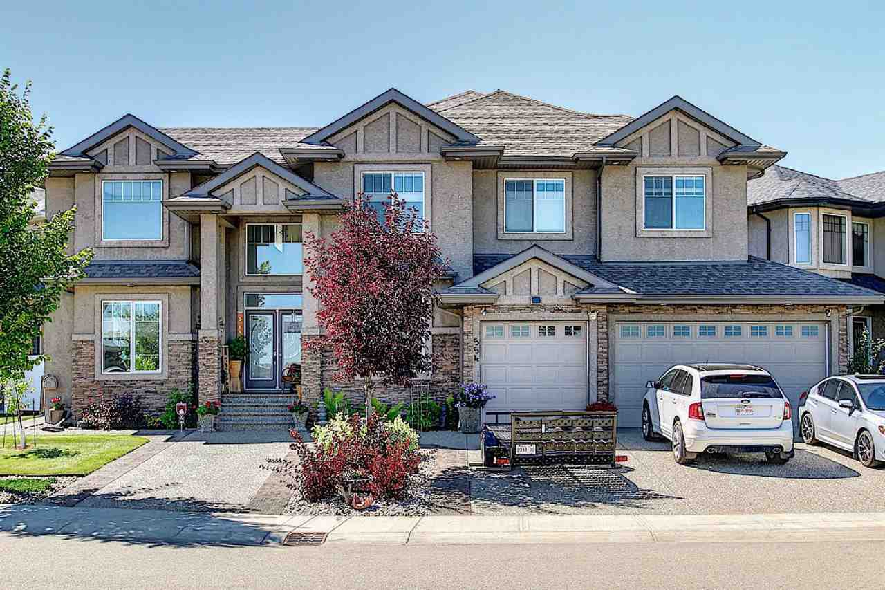 Main Photo: 554 ALBANY Way in Edmonton: Zone 27 House for sale : MLS®# E4210629