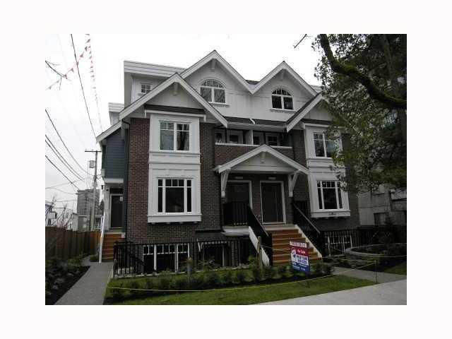 Photo 1: Photos: 2838 SPRUCE Street in Vancouver: Fairview VW Townhouse for sale (Vancouver West)  : MLS®# V817088
