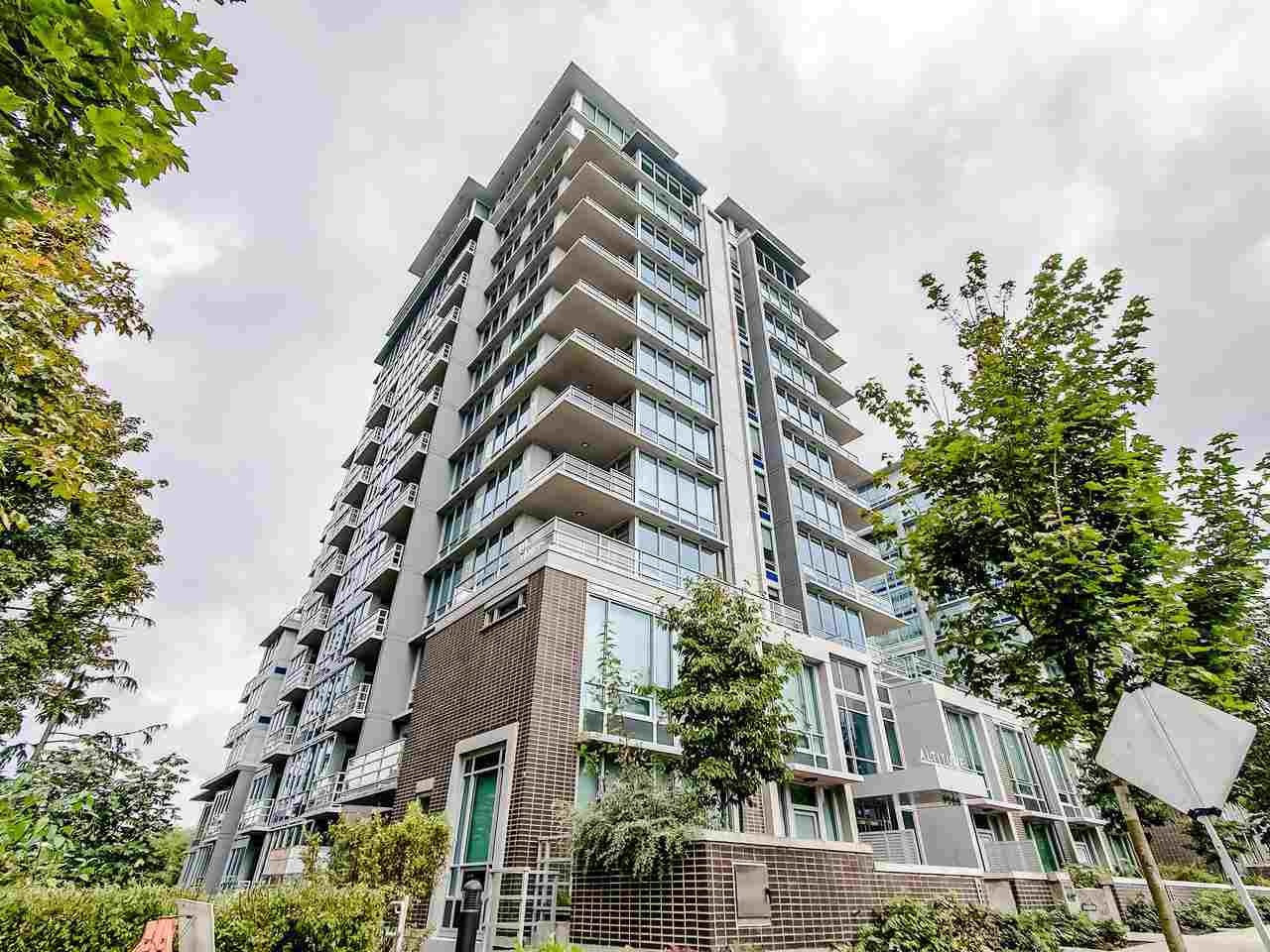 Main Photo: 1602 9060 UNIVERSITY Crescent in Burnaby: Simon Fraser Univer. Condo for sale (Burnaby North)  : MLS®# R2428248
