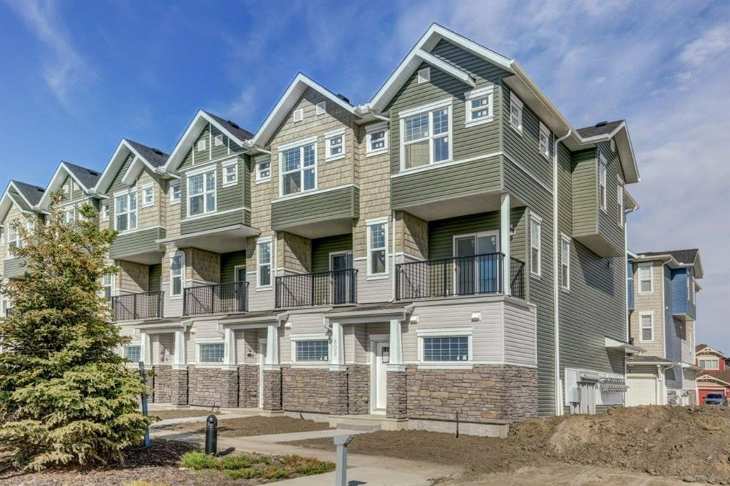 Main Photo: Floor plans: 809 115 Sagewood Drive: Airdrie Row/Townhouse for sale : MLS®# A1036627