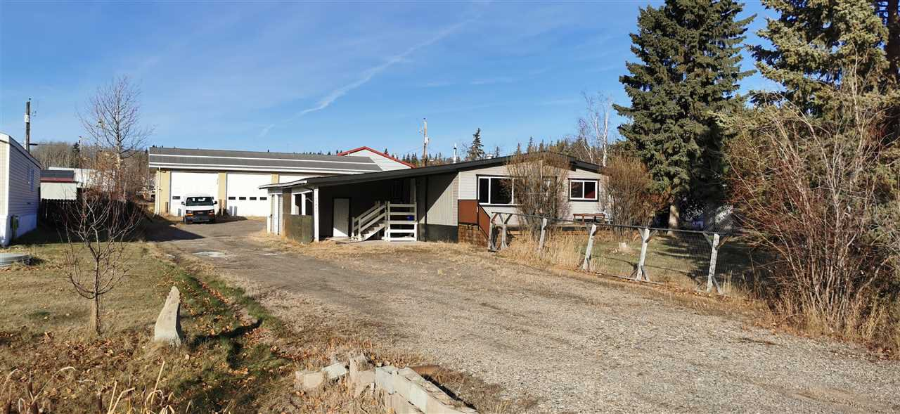 Main Photo: 12827 MEADOW HEIGHTS Road in Fort St. John: Fort St. John - Rural W 100th Industrial for sale (Fort St. John (Zone 60))  : MLS®# C8035151