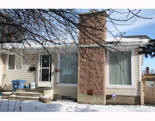 Main Photo: 5260 MARLBOROUGH Place NE in CALGARY: Marlborough Residential Detached Single Family for sale (Calgary)  : MLS®# C3410545