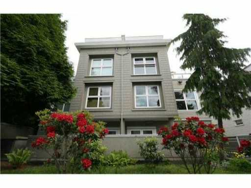 Main Photo: 2516 W 4TH Avenue in Vancouver: Kitsilano Townhouse for sale (Vancouver West)  : MLS®# V833997