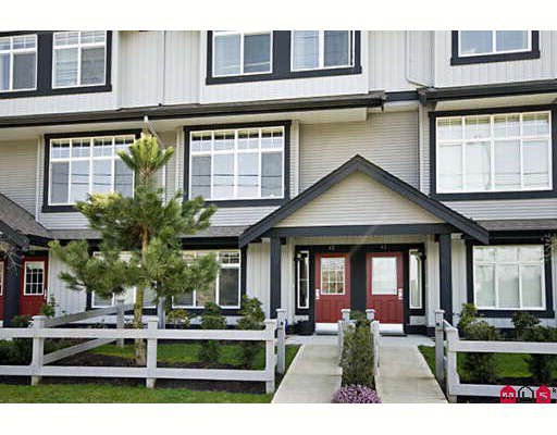 "Main Photo: 42 18839 69TH Avenue in Surrey: Clayton Townhouse for sale in ""Starpoint II"" (Cloverdale)  : MLS®# F2907067"