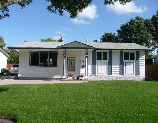 Main Photo: 54 TRACY in WINNIPEG: St Vital Residential for sale (South East Winnipeg)  : MLS®# 2814474
