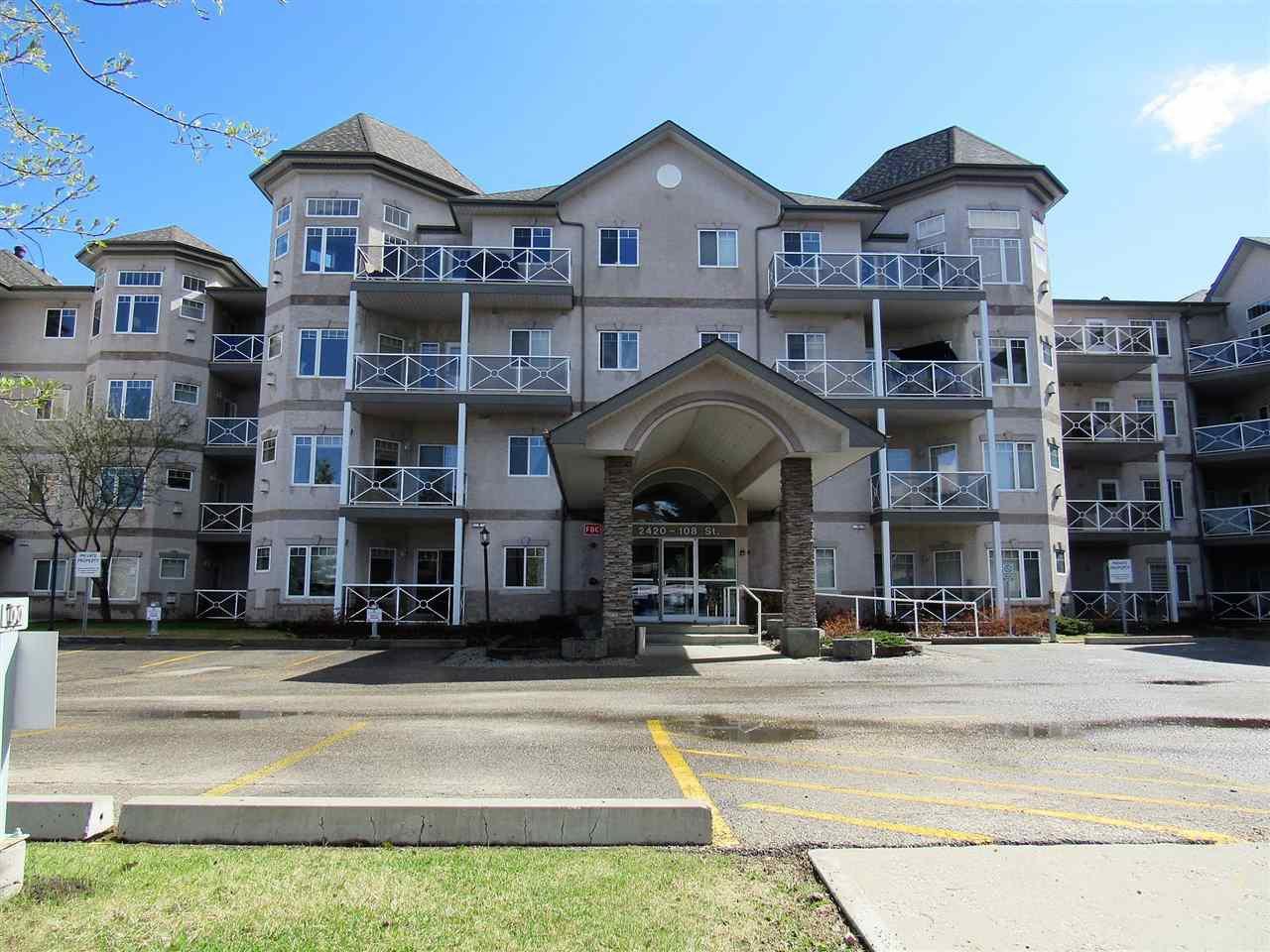 Main Photo: 303 2420 108 Street in Edmonton: Zone 16 Condo for sale : MLS®# E4212815