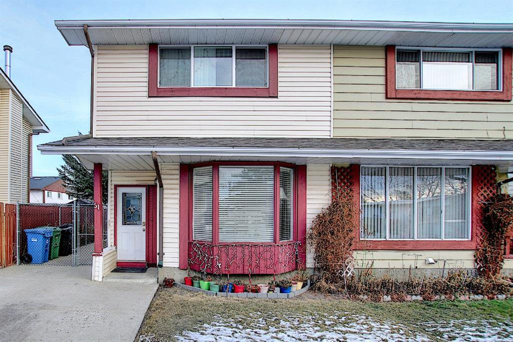 Main Photo: 51 Fonda Hill SE in Calgary: Forest Heights Semi Detached for sale : MLS®# A1056014