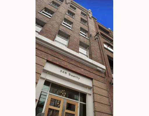 Main Photo: 310 546 BEATTY Street in Vancouver: Downtown VW Condo for sale (Vancouver West)  : MLS®# V812156