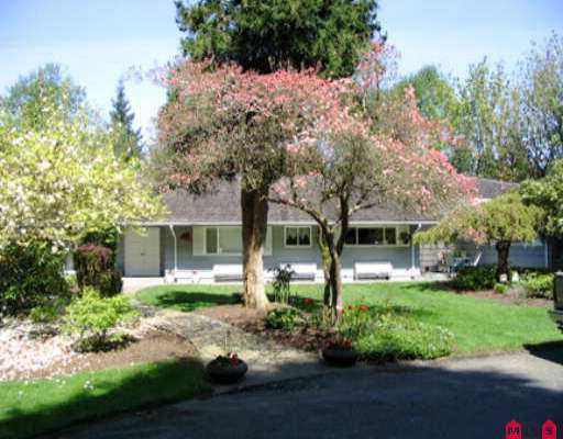Main Photo: 13535 32ND AV in White Rock: Elgin Chantrell House for sale (South Surrey White Rock)  : MLS®# F2508220