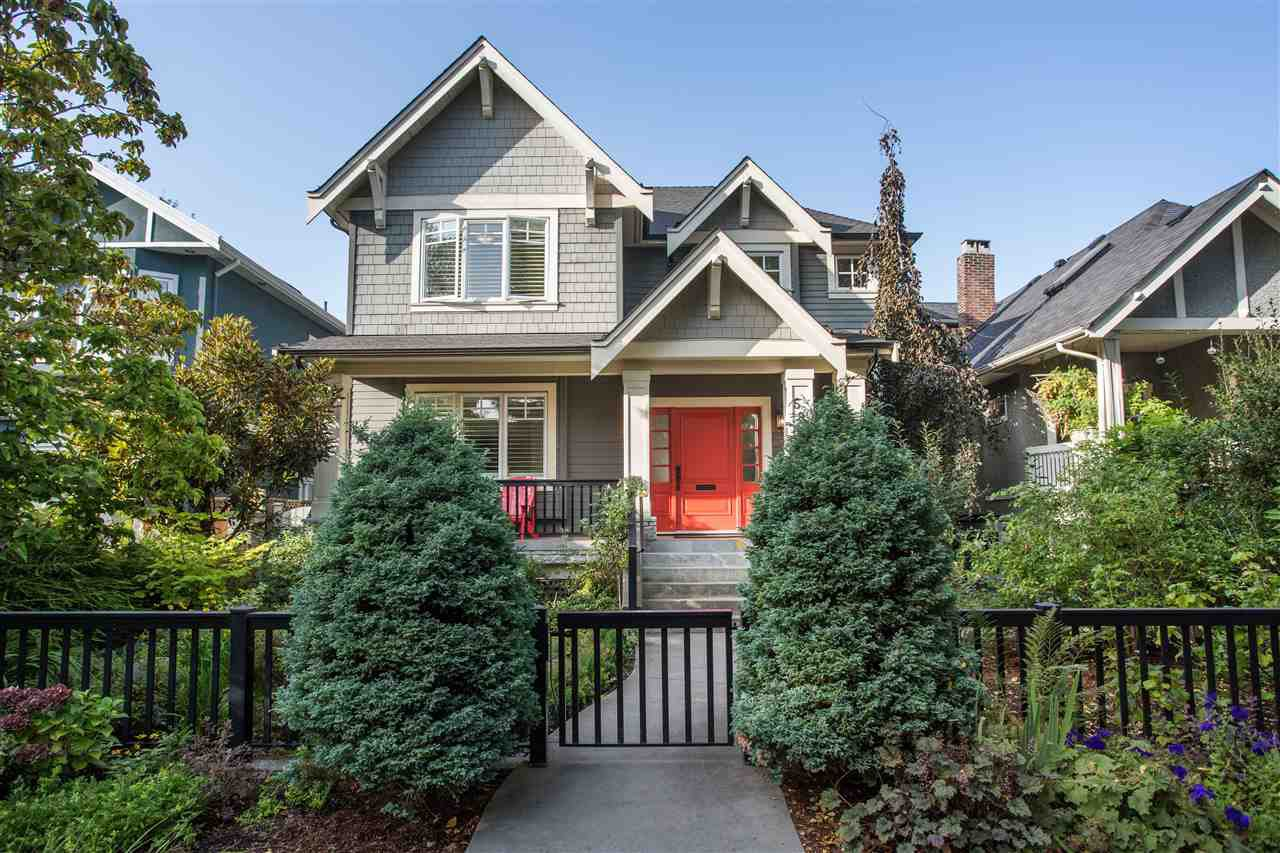 Photo 1: Photos: 595 W 18TH AVENUE in Vancouver: Cambie House for sale (Vancouver West)  : MLS®# R2499462
