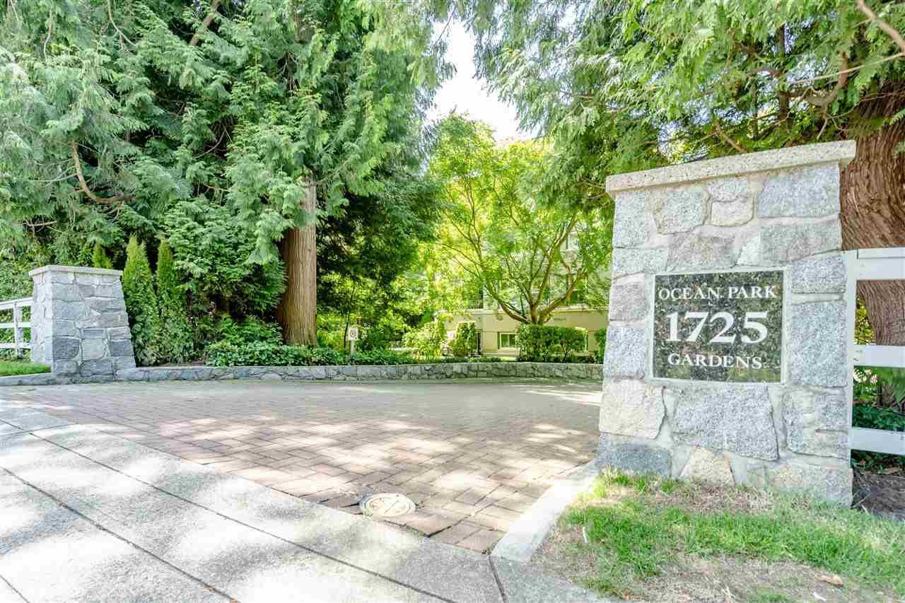 Main Photo: 103 1725 128 STREET in Surrey: Crescent Bch Ocean Pk. Condo for sale (South Surrey White Rock)  : MLS®# R2470348