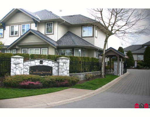 """Main Photo: 25 8888 151ST Street in Surrey: Bear Creek Green Timbers Townhouse for sale in """"CARLINGWOOD"""" : MLS®# F2822497"""