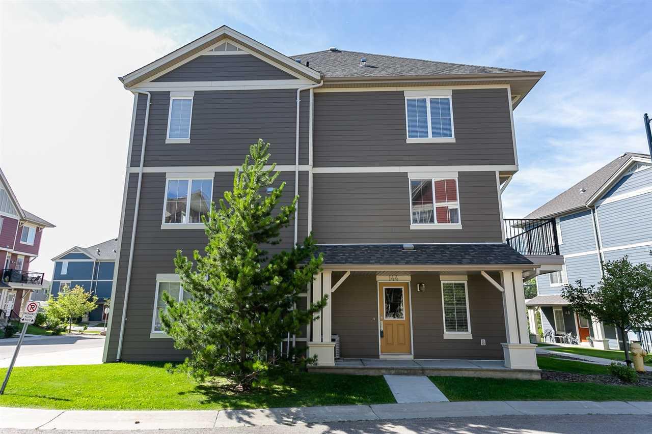 Main Photo: 144 603 WATT Boulevard in Edmonton: Zone 53 Townhouse for sale : MLS®# E4170768