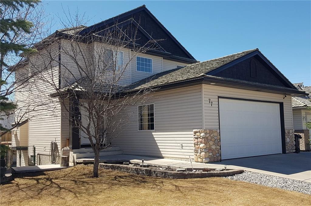 Main Photo: 77 BOW RIDGE CR: Cochrane Detached for sale : MLS®# C4292435