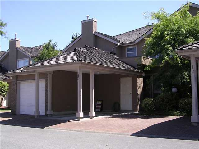 Main Photo: 16 9671 CAPELLA Drive in Richmond: West Cambie Townhouse for sale : MLS®# V841878