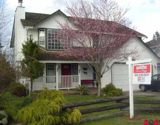 "Main Photo: 16411 80TH AV in Surrey: Fleetwood Tynehead House for sale in ""Fleetwood"" : MLS®# F2605996"