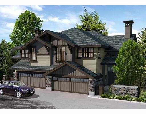"""Main Photo: 7 555 RAVENWOODS Drive in North_Vancouver: Roche Point Townhouse for sale in """"THE SIGNATURE ESTATES"""" (North Vancouver)  : MLS®# V733136"""