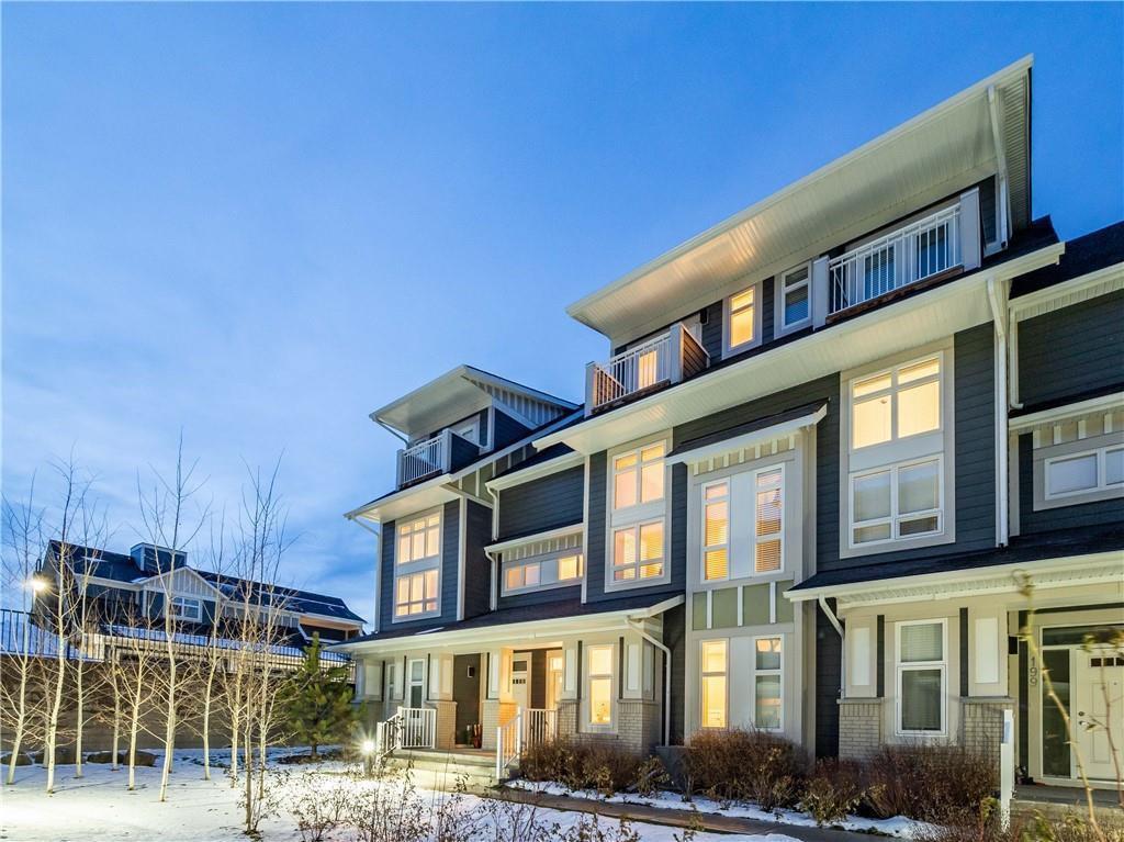 Main Photo: 201 SILVERADO PLAINS Park SW in Calgary: Silverado Row/Townhouse for sale : MLS®# C4299654