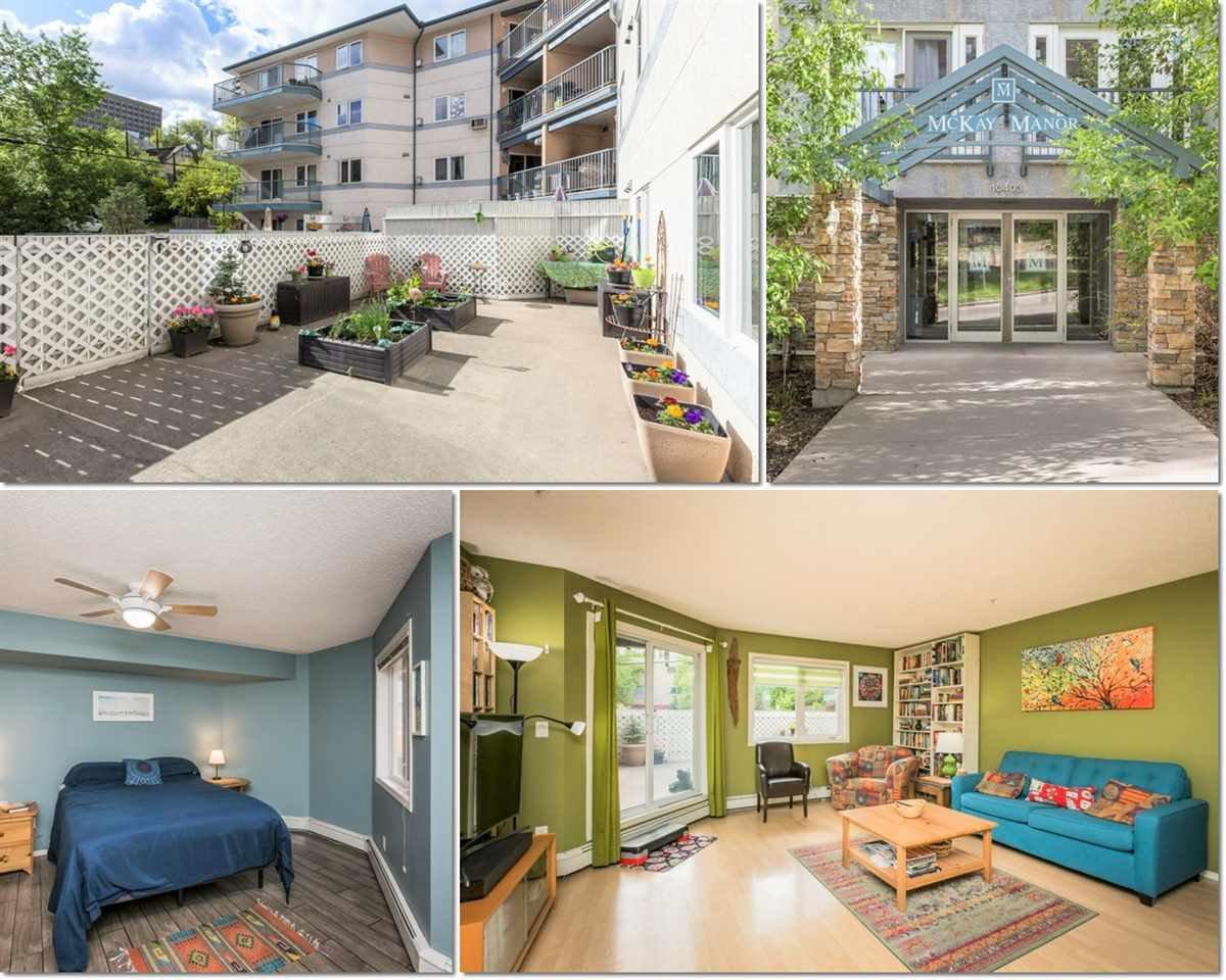Main Photo: 115 10403 98 Avenue in Edmonton: Zone 12 Condo for sale : MLS®# E4199962