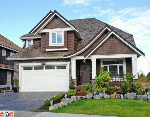 """Main Photo: 16261 31ST Avenue in Surrey: Grandview Surrey House for sale in """"MORGAN ACRES"""" (South Surrey White Rock)  : MLS®# F1001581"""