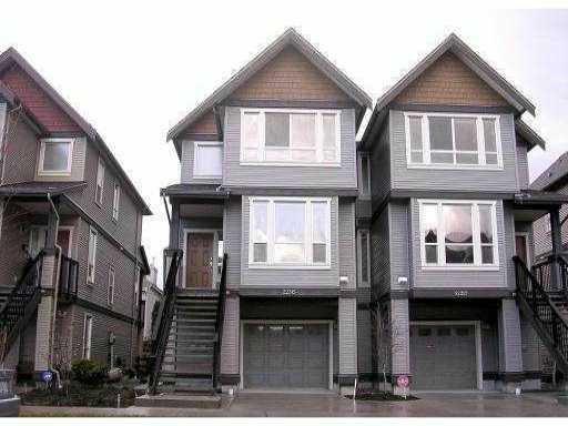 Photo 1: Photos: 22315 SHARPE Avenue in Richmond: Hamilton RI House 1/2 Duplex for sale : MLS®# V843358